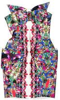 Belle Sauvage Silk Printed Dress