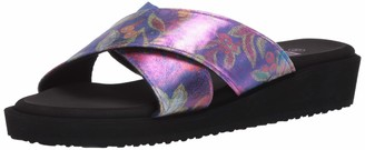 Muk Luks Womens Mera Sandals Purple 7