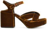 Jil Sander platform sandals