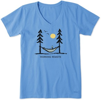 Life is Good Women's Working Remote Crusher Tee