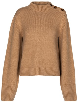 KHAITE Brie cashmere sweater