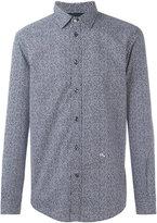 Diesel speckle print shirt - men - Cotton/Spandex/Elastane - L