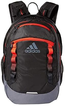 adidas Excel V Backpack (Black/Active Red/Onix) Backpack Bags