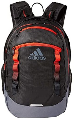 adidas Excel V Backpack (Black/Active Red/Onix) Backpack Bags