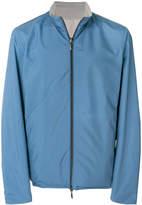 Canali reversible zipped jacket