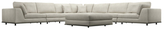 Modloft Perry Large Corner Sectional Sofa Set (8 PC)