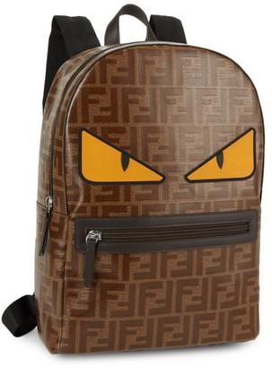 Fendi Little Kid's & Kid's Monster Eye Nylon Backpack