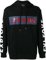 Markus Lupfer 'survival' print hoodie - men - Cotton - XS