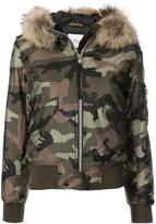 SAM. Jenny camouflage bomber jacket