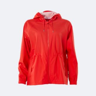 Rains Red Waterproof W Jacket - XXS/XS