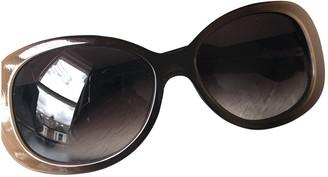 Cartier Grey Plastic Sunglasses