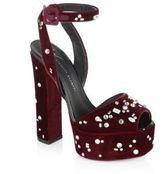 Giuseppe Zanotti Lavinia Swarovski Crystal Platform Sandals