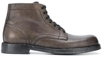 Dolce & Gabbana Perugino ankle boots