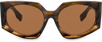 Burberry Oversized-Frame Sunglasses
