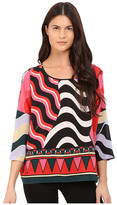 M Missoni Abstract Top