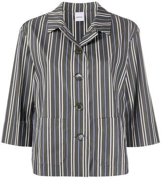 Aspesi Striped Boxy Shirt