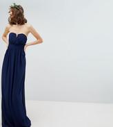 TFNC Tall Tall Bandeau Maxi Bridesmaid Dress