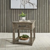 Locust Grove End Table with Storage Gracie Oaks