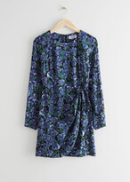 Thumbnail for your product : And other stories Floral Print Mini Dress