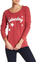 Chaser Saturday Love Knit Sweater