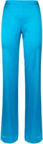 Essentials Bi-Stretch Silk Loose Trousers