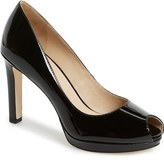 Via Spiga 'Brandy' Peep Toe Pump (Women)