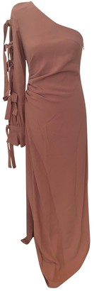Raquel Diniz Pink Viscose Dresses