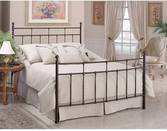 Hillsdale Providence Full Bed Set Rails included, Anitque Bronze