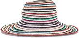 Missoni striped hat - women - Rayon/Straw - M