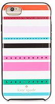 Kate Spade Jeweled Fiesta Stripe iPhone 7 Case