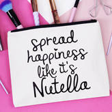 Elsie & Nell 'Spread Happiness Like It's Nutella' Makeup Bag