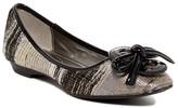 J. Renee Edelina Metallic Flat - Wide Width Available