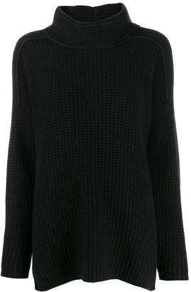 Iris von Arnim waffle-knit jumper