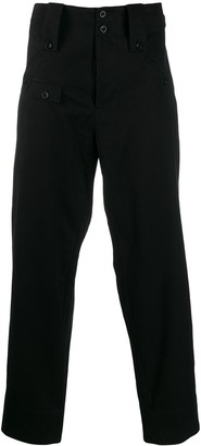 Katharine Hamnett loose-fit Rider trousers