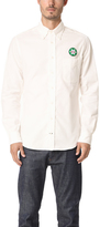 Gitman Brothers Alta White Flannel Shirt