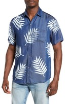 Sol Angeles Men's Palm Print Shirt