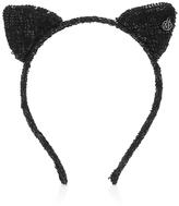 Maison Michel Heidi Sequined Cat Ears