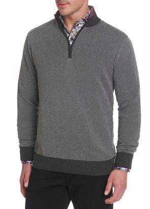 Robert Graham Men's Rhett Quarter-Zip Sweater