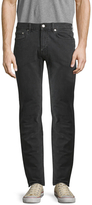 BLK DNM 5 Solid Cotton Straight Fit Jeans