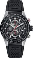 Tag Heuer Carrera Men's Watch Skeleton Dial w/ Rubber Strap CAR201V.FT6046