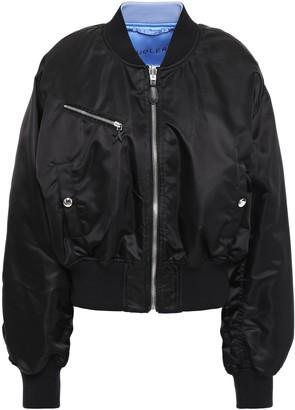 Thierry Mugler Reversible Shell Bomber Jacket