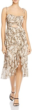 Bardot Briana Faux-Wrap Dress