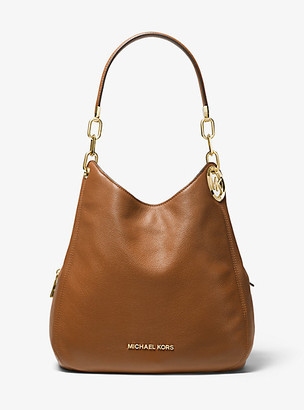 Michael Kors Lillie Large Pebbled Leather Shoulder Bag