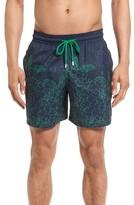 Vilebrequin Men's Mahina Bubble Turtles Print Swim Trunks