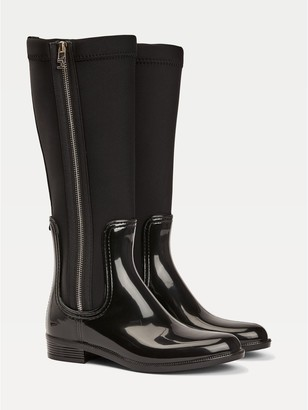 Tommy Hilfiger Neoprene Long Rain Boot
