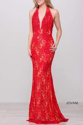 Jovani Lace Gown