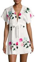 Kate Spade New York Short Floral Robe