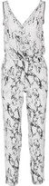 Lemlem Hana printed silk-crepe jumpsuit