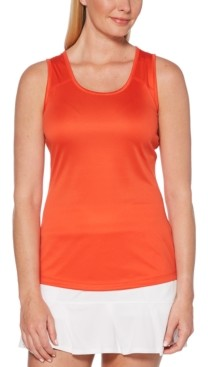 Grand Slam Tennis by Pga Tour Cutout-Back Tennis Tank Top