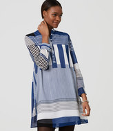 LOFT Stripeout Shirtdress